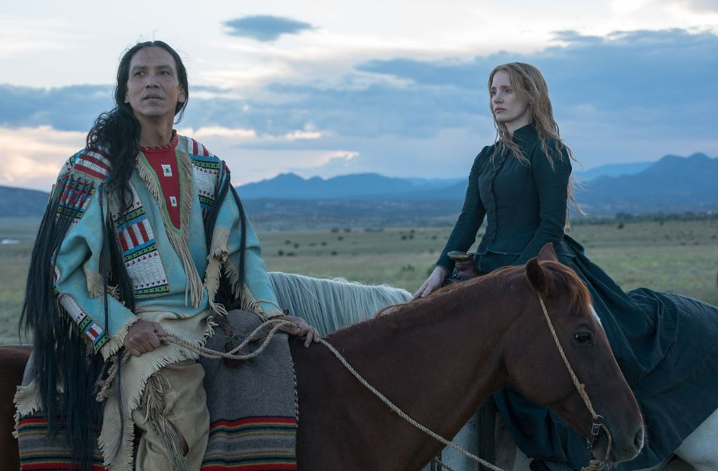 Jessica Chastain als Catherine Weldon, Michael Greyeyes als  Sitting Bull Foto: Verleih