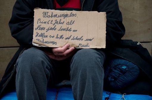 Sozialverbände beklagen Not der Wohnungslosen