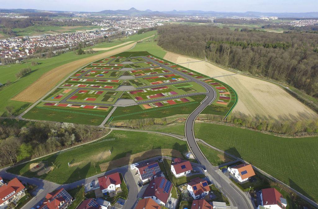 Ob Volkes Stimme zum Weilenberger Hof III gehört wird, ist noch offen. Foto: Stadt Uhingen