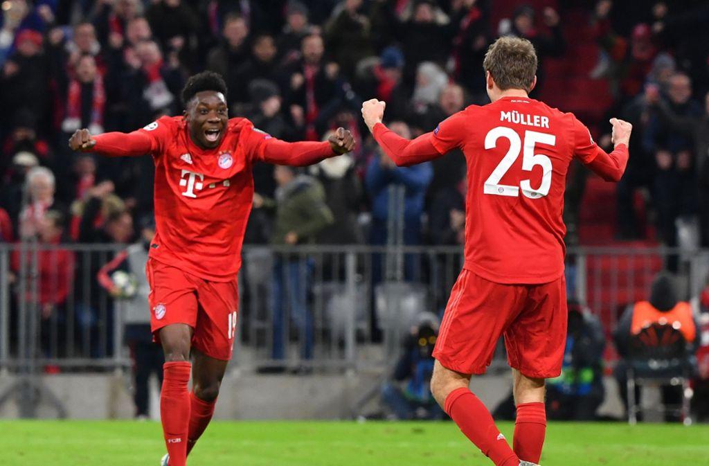 Der FC Bayern München hat die Gruppenphase der Champions League  mit sechs Siegen in sechs Spielen bravourös gemeistert. Foto: dpa/Peter Kneffel