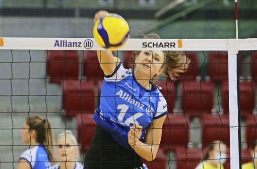 Stuttgarter Volleyballerinnen gelingt Sensation