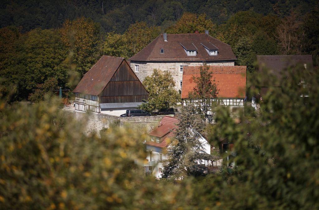 Burg Waldenstein steht zum Verkauf. Foto:
