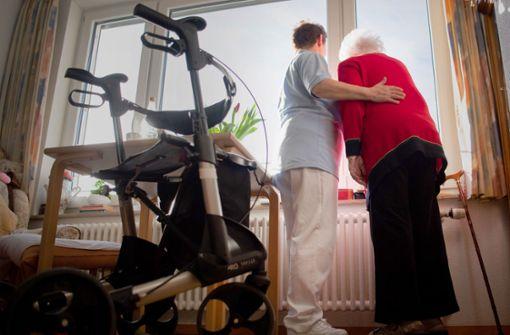 Hohe Ausfallzahlen belasten Altenpflege
