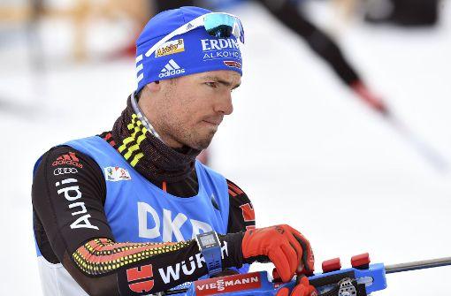 Simon Schempp wird Massenstart-Weltmeister