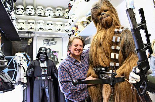 Wo Darth Vader auf Ernie und Bert trifft