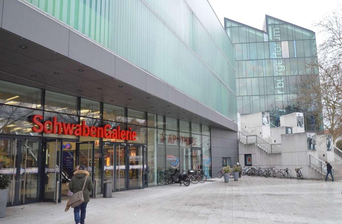 Das Centermanagement muss einen Nachmieter für die Fläche von Media Markt in der Schwabengalerie suchen. Foto: Sandra Hintermayr