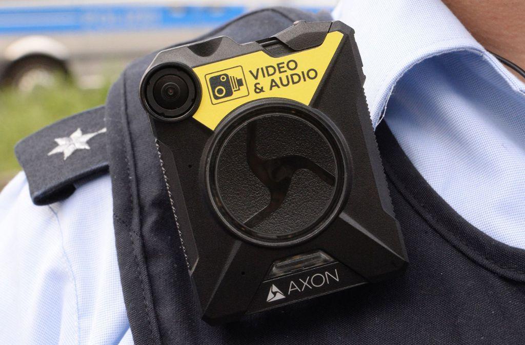 Kann bei Einsätzen mitlaufen: Bodycams Foto: dpa