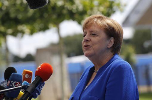 Merkel weist scharfe Kritik Trumps zurück