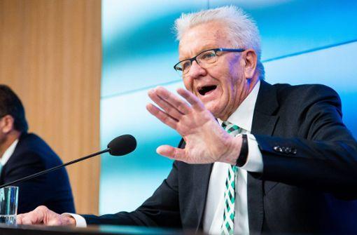 Kretschmann will keine Besäufnisse  im Schlossgarten