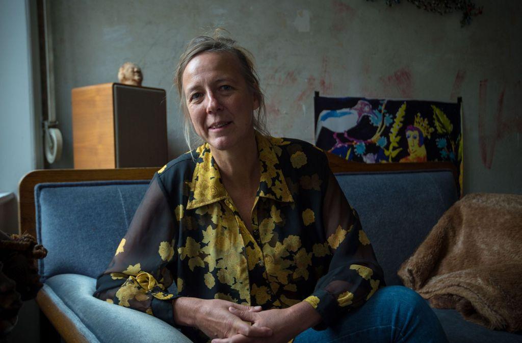 """Figurenspielerin Stefanie Oberhoff arbeitet in Stuttgart und in Afrika. Beim Festival """"6 Tage frei"""" im Theater Rampe präsentiert sie """"Punch Agathe"""" Foto: Lichtgut/Leif-H.Piechowski"""