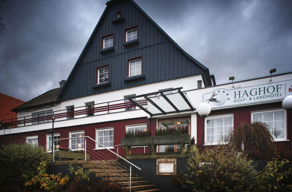 Das Hotel Haghof wurde bis vergangenen Sommer vom Landkreis als Gemeinschaftsunterkunft für Flüchtlinge genutzt. Foto: Gottfried Stoppel