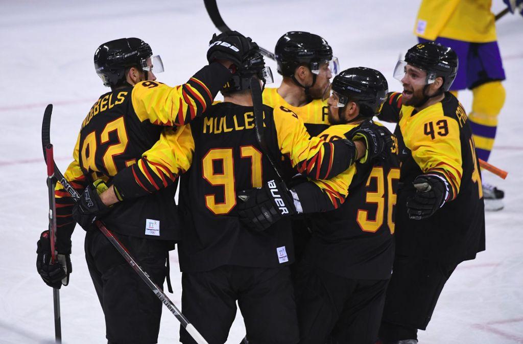 Deutsche Eishockey Mannschaft