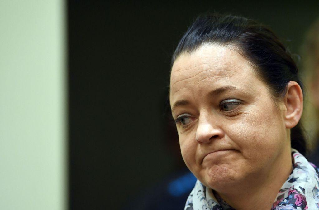 Beate Zschäpe äußerte sich vor Gericht erst zum zweiten Mal in fünf Jahren. Foto: POOL