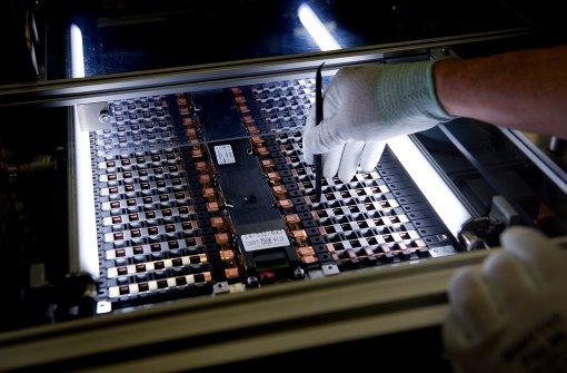 Daimler baut Batteriefabrik in Kamenz