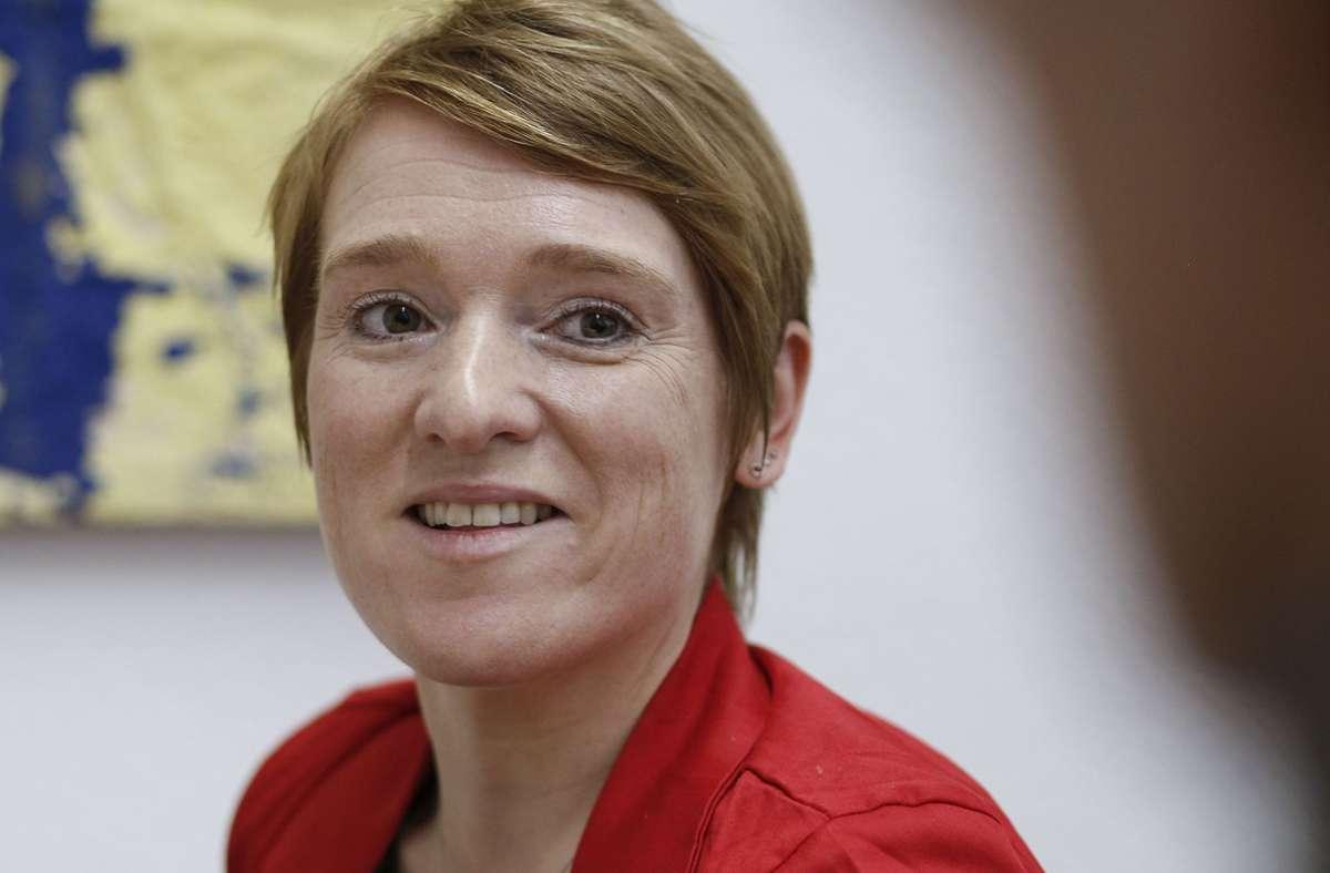 Die Behindertenbeauftragte Simone Fischer Foto: Lichtgut/Leif-Hendrik Piechowski