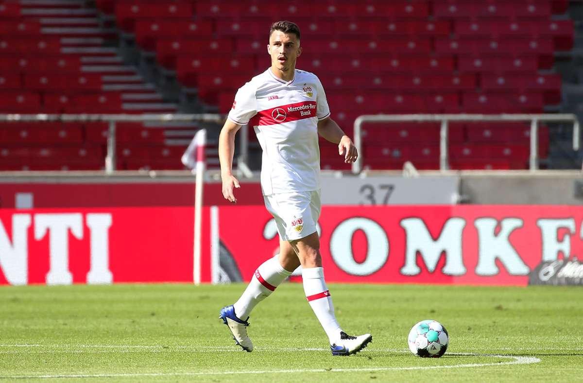 Abwehrspieler Marc Kempf spielt mit dem  VfB eine starke Saison. Foto: Baumann