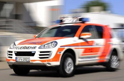 Ein Toter und neun Verletzte bei Unfall auf A81