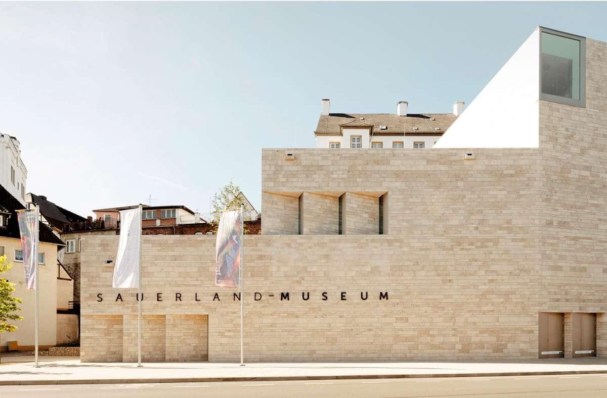 Vielfach preisgekrönt: das neue Museums- und Kulturforum Südwestfalen in Arnsberg im Sauerland Foto: Brigida Gonzalez