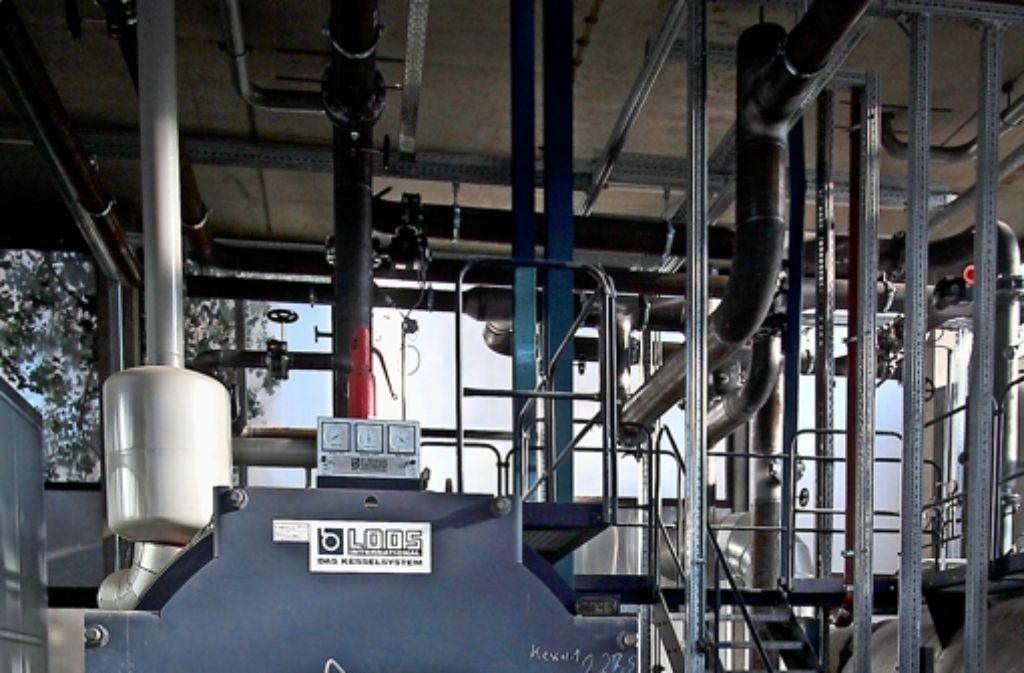 Auch die alten Heizkessel haben neue  Brenner bekommen. Foto: factum/Granville