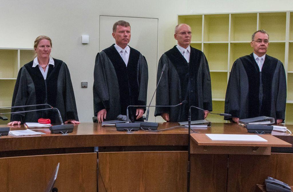 Die Richter haben am Mittwoch die Urteile im NSU-Prozess verkündet. Foto: dpa