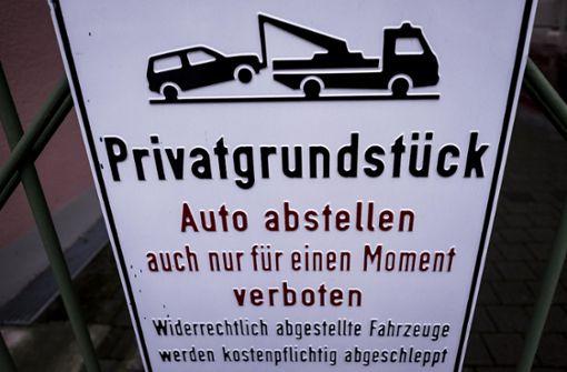 Karlsruher forderte Parkverbot gegenüber seiner Garage