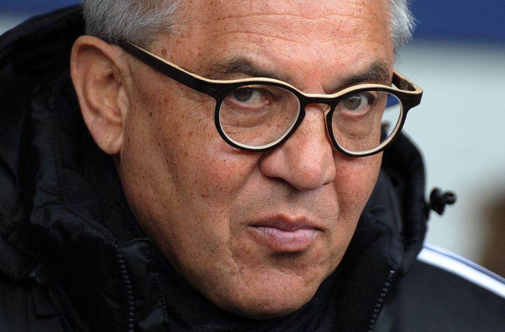 Hält die Trainer-Entscheidung des HSV für falsch: Felix Magath. Foto: EPA