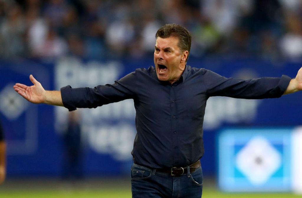 Dieter Hecking ist seit dieser Saison Trainer beim Hamburger SV. Foto: Bongarts/Getty Images