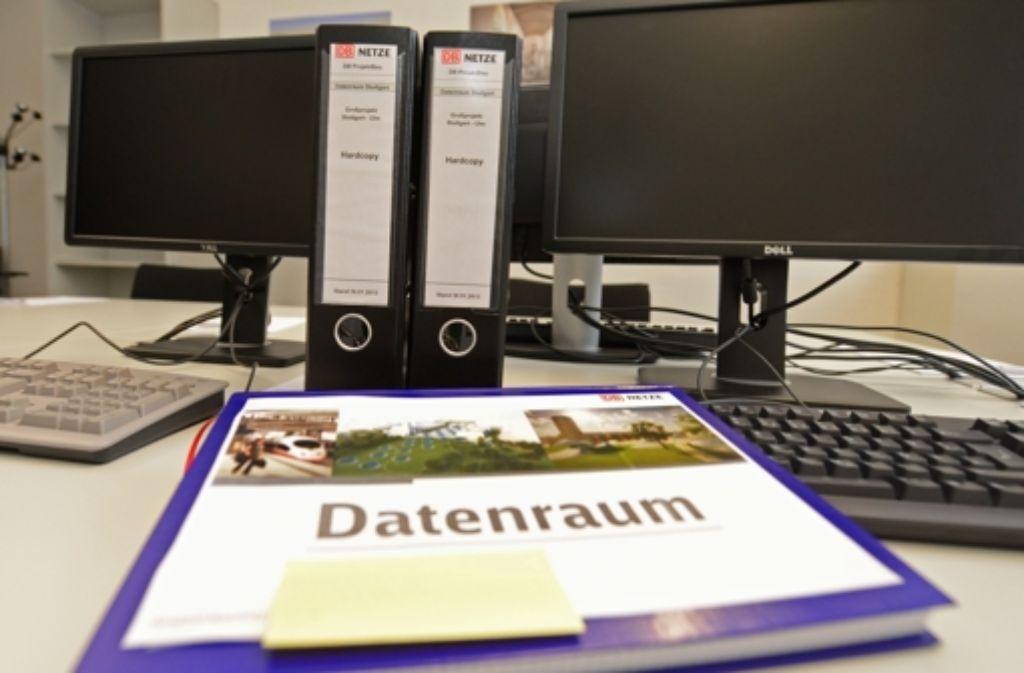 Schlicht und unspektakulär: Der Datenraum im Foto: dpa