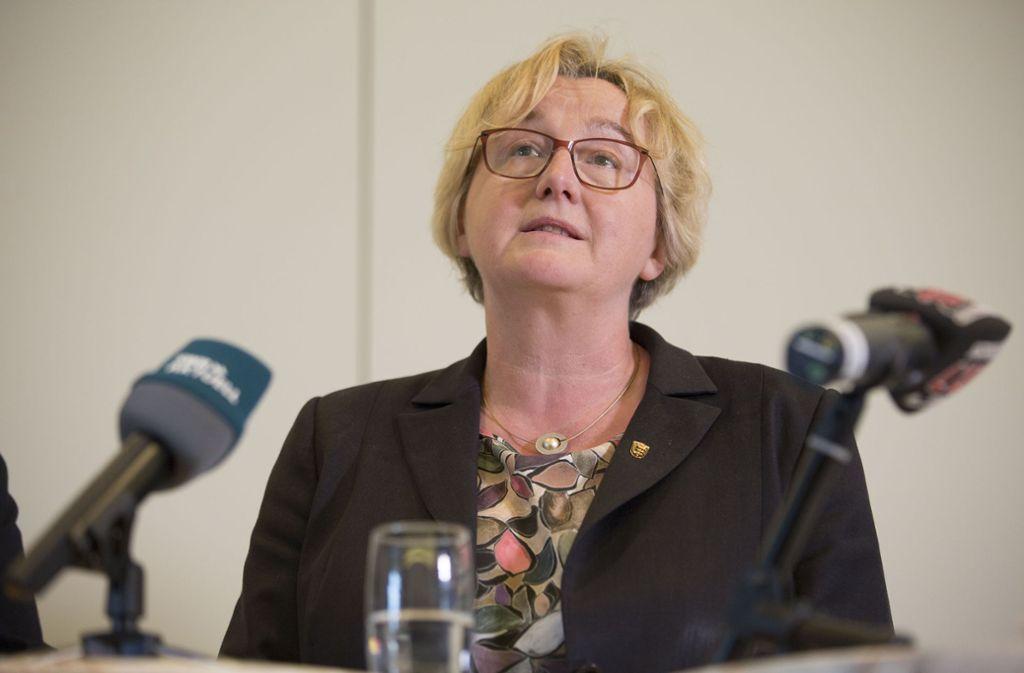 Bauer ist wegen der Vorgänge rund um Zulagen für Professoren der Beamtenhochschule in Ludwigsburg seit Monaten in der Kritik. Foto: Lichtgut/Leif Piechowski