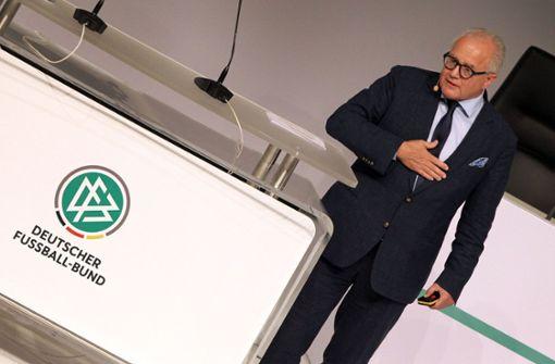 DFB-Präsident: ein Fall für Superman
