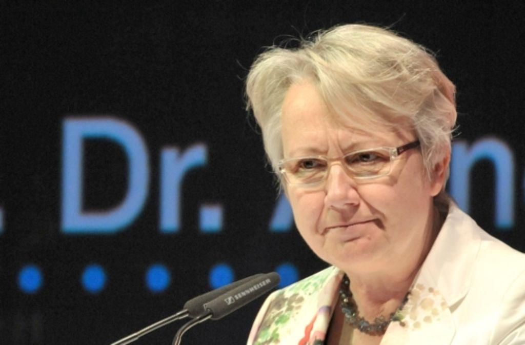 Die Plagiatsaffäre um Annette Schavan schlägt neue Wellen. Foto: dpa