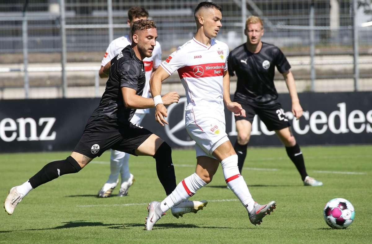 Rückkehrer Erik Thommy zeigte eine gute Partie. Foto: Pressefoto Baumann/Hansjürgen Britsch