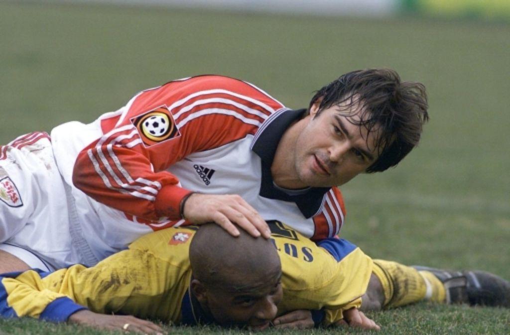 Für Thomas Berthold gehört eine gewisse Härte zum  Fußball dazu. Foto: Baumann