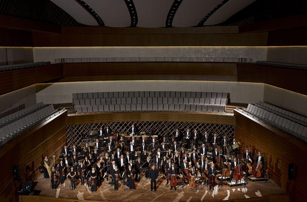 Die Bochumer Symphoniker im Konzertsaal des neuen Musikforums Ruhr Foto: Christoph Fein