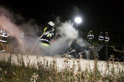 Autobahn bleibt in Richtung Stuttgart gesperrt