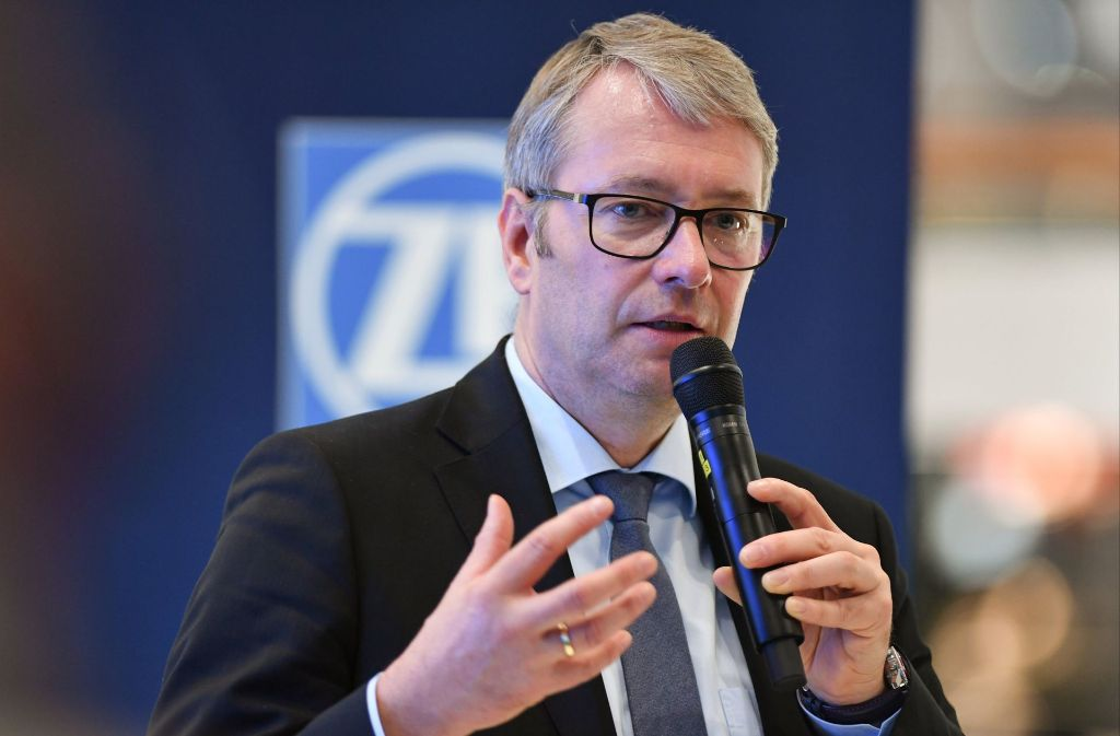 ZF-Chef Stefan Sommer  verlässt den Konzern Foto: dpa