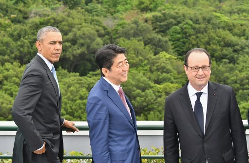 Schulterschluss von Obama und Hollande