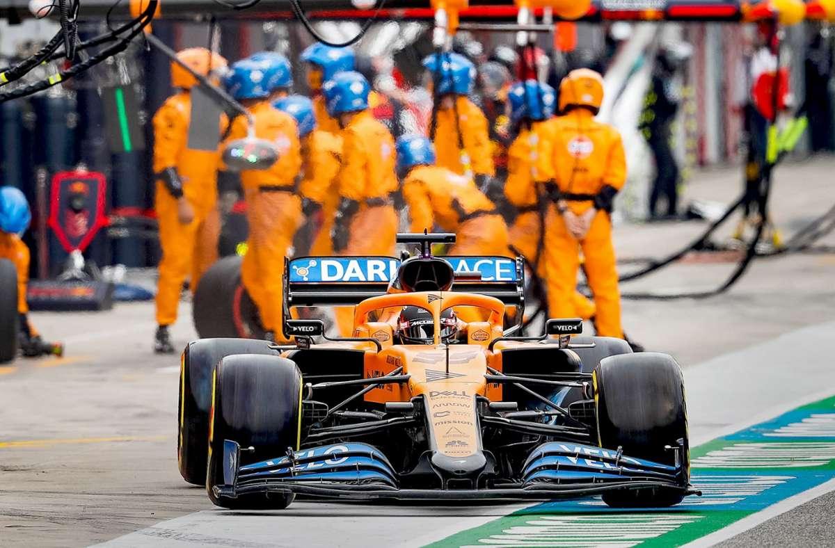 McLaren lässt die mageren Jahre hinter sich und möchte bald wieder um Grand-Prix-Erfolge mitkämpfen – nächstes Jahr mit einem Mercedes-Motor. Foto: imago/Nordphoto