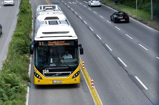 Neue Busspur im Osten kostet 35 Parkplätze