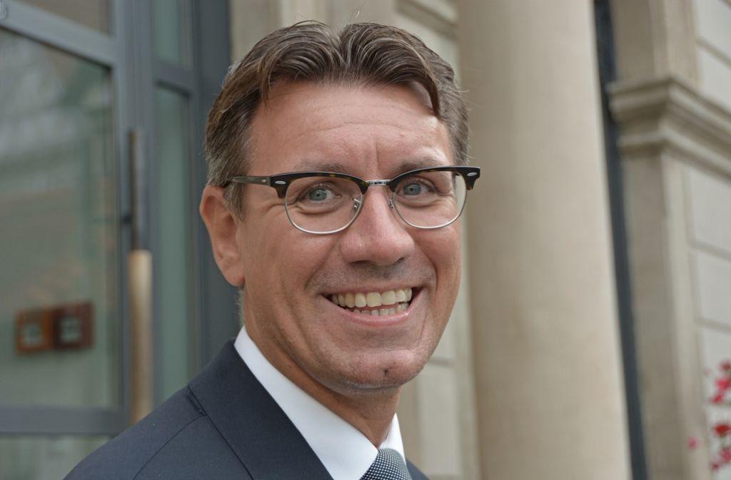 Thorsten Englert ist neuer Schorndorfer Finanzbürgermeister Foto: Stadt Schorndorf