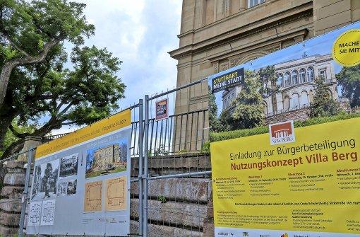 Ideen für die Villa Berg am Bauzaun