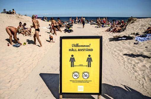 Bei Schweden gehen die Meinungen auseinander