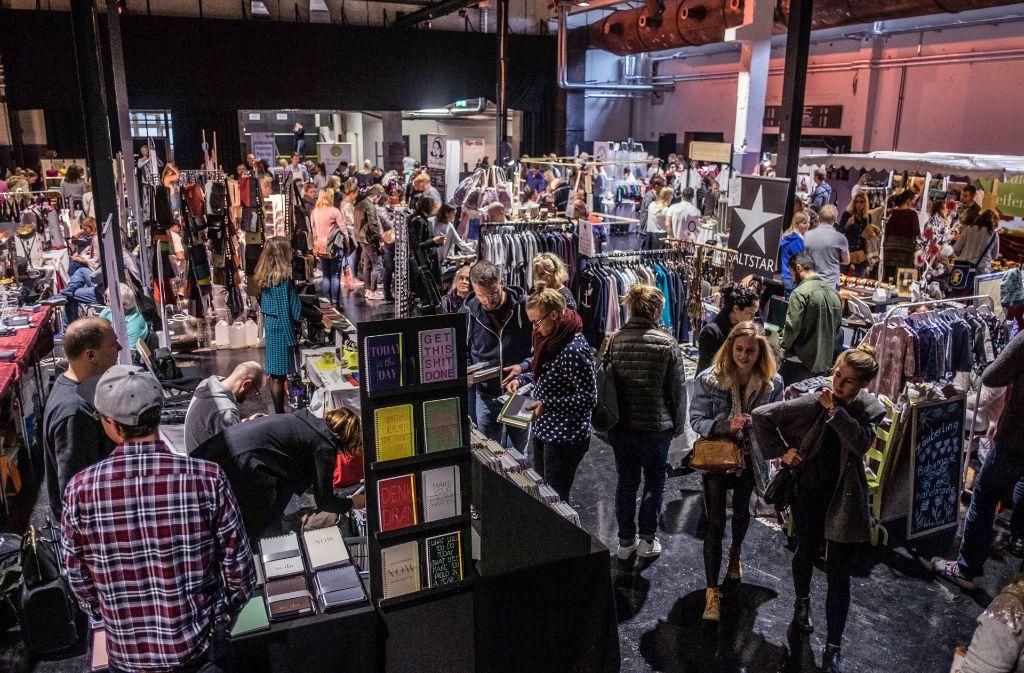 Im Oktober war der Kreativmarkt schon einmal im Wizemann zu Gast. Foto: Max Kovalenko