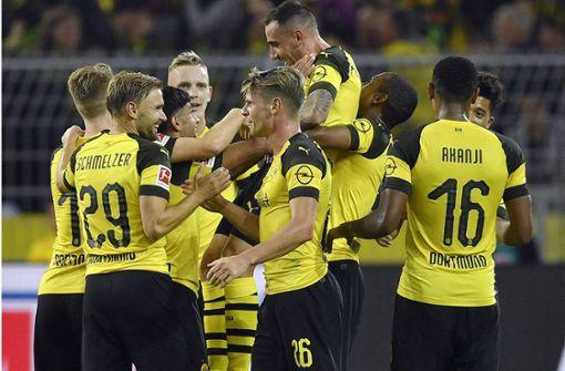Borussia Dortmund vorerst Tabellenführer – Sieg gegen Frankfurt