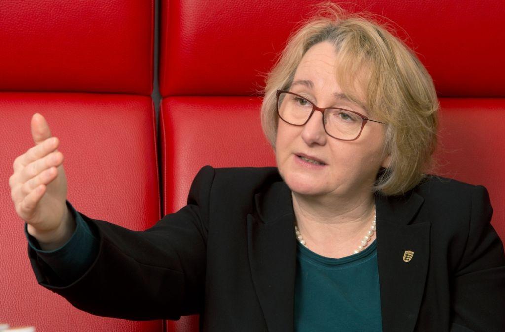 Ihre bisherige Amtschefin ließ sich zurückstufen: Wissenschaftsministerin Theresia Bauer Foto: dpa