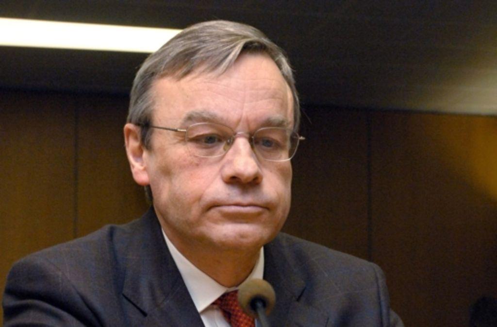 Reizfigur oder nicht? Oberstaatsanwalt Bernhard Häußler Foto: dpa