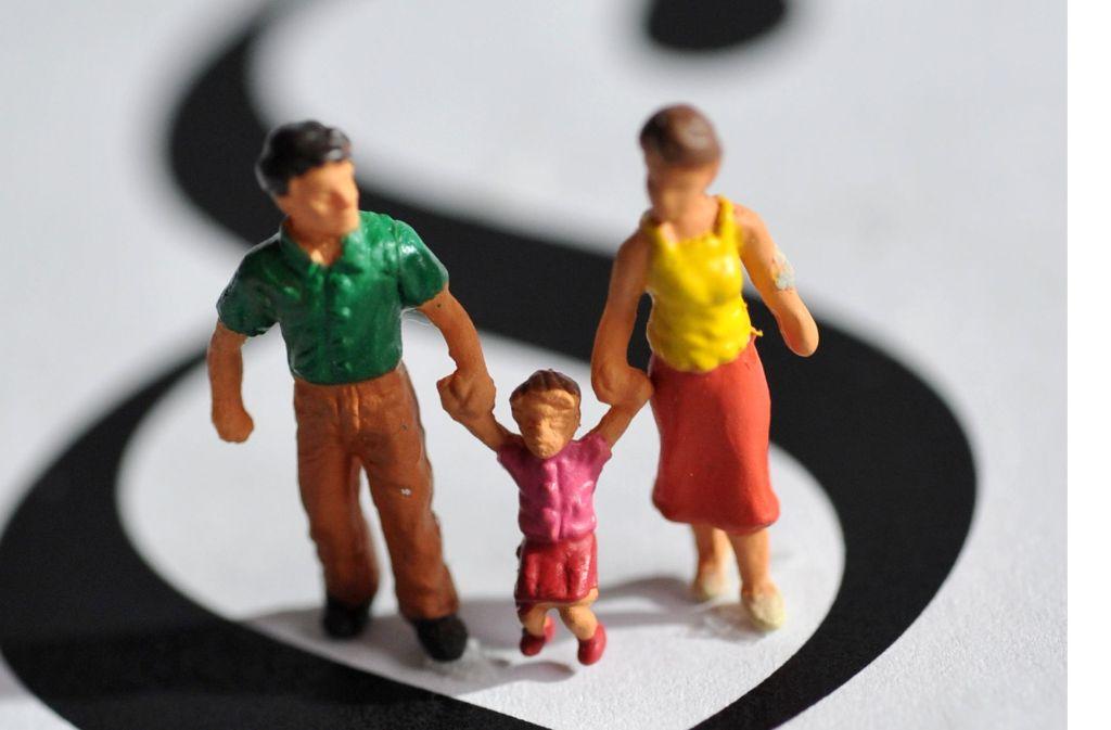 Bei Trennungen leiden auch die Kinder – vor allem, wenn sich die Eltern nicht einigen Foto: dpa