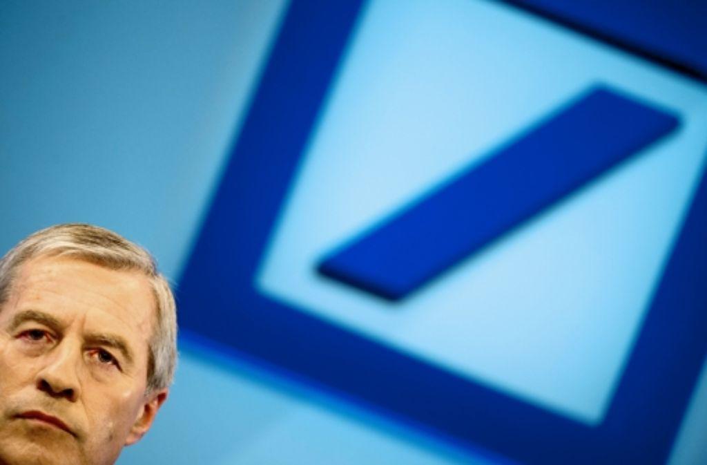 Die Vorwürfe gegen Bankchef Fitschen kratzen am Image der Deutschen Bank. Foto: dapd