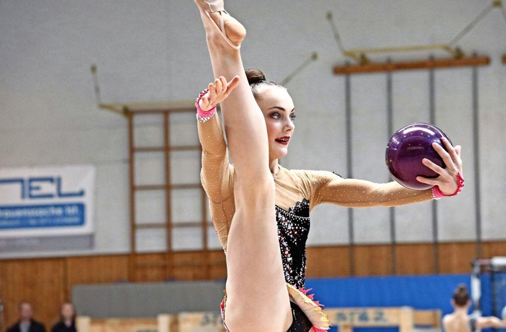 Margarita Kolosov hat es bei den Europameisterschaften in Spanien nicht – wie erhofft – in ein Gerätefinale geschafft. Foto: Patricia Sigerist