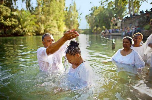 Taufen wie im Jordan